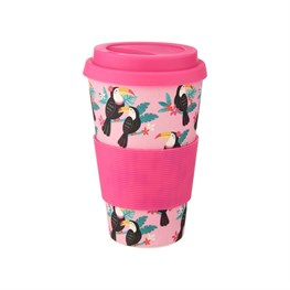 Toucan Bamboo Coffee Cup