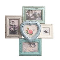 Delilah Heart Multi Photo Frame
