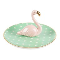 Tropical Flamingo Trinket Dish