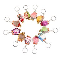 Vintage Mini Owl Keyring Assorted