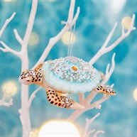Beach Fun Turtle Shaped Bauble