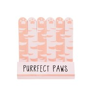 Cutie Cat Purrfect Paws Mini Nail Files - Set of 6