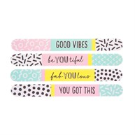 Memphis Modern Nail File Assorted