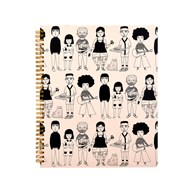 My Kind of People A4 Notebook
