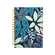 Variegated Leaves A5 Notebook