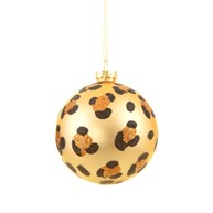 Luxe Leopard Print Bauble