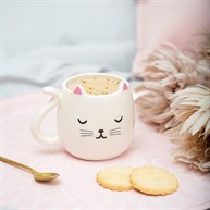 Cutie Cat Shaped Mug