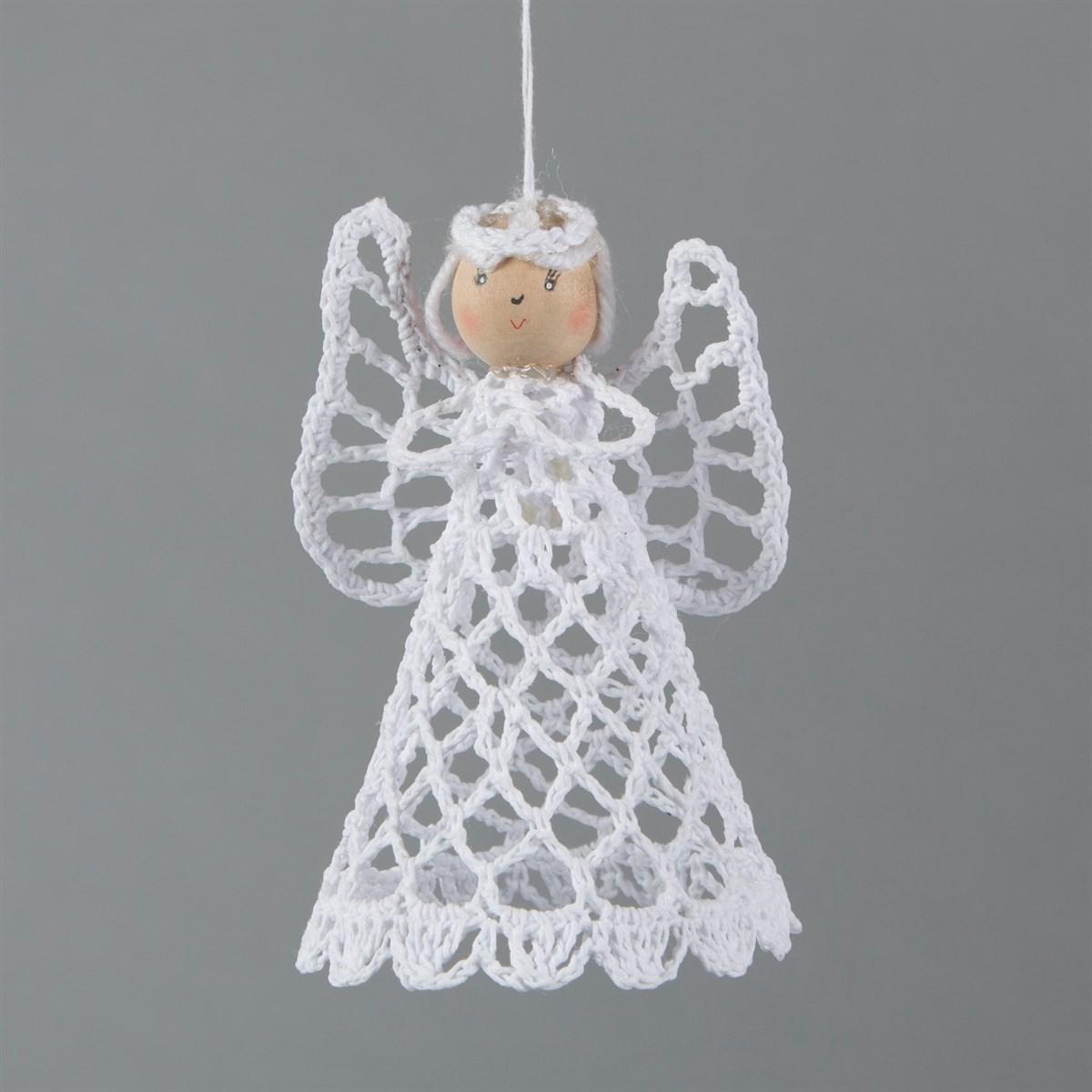 Crochet Pixie Doll Tree Topper