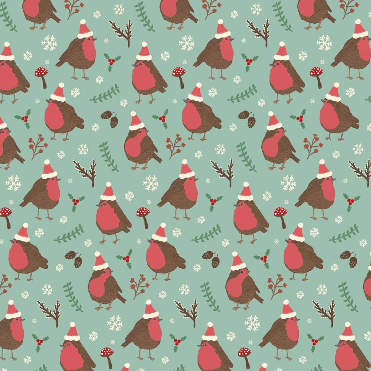 christmas robin wrapping paper default image - Cheap Christmas Wrapping Paper