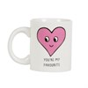 Patches and Pins Heart Mug Default Image