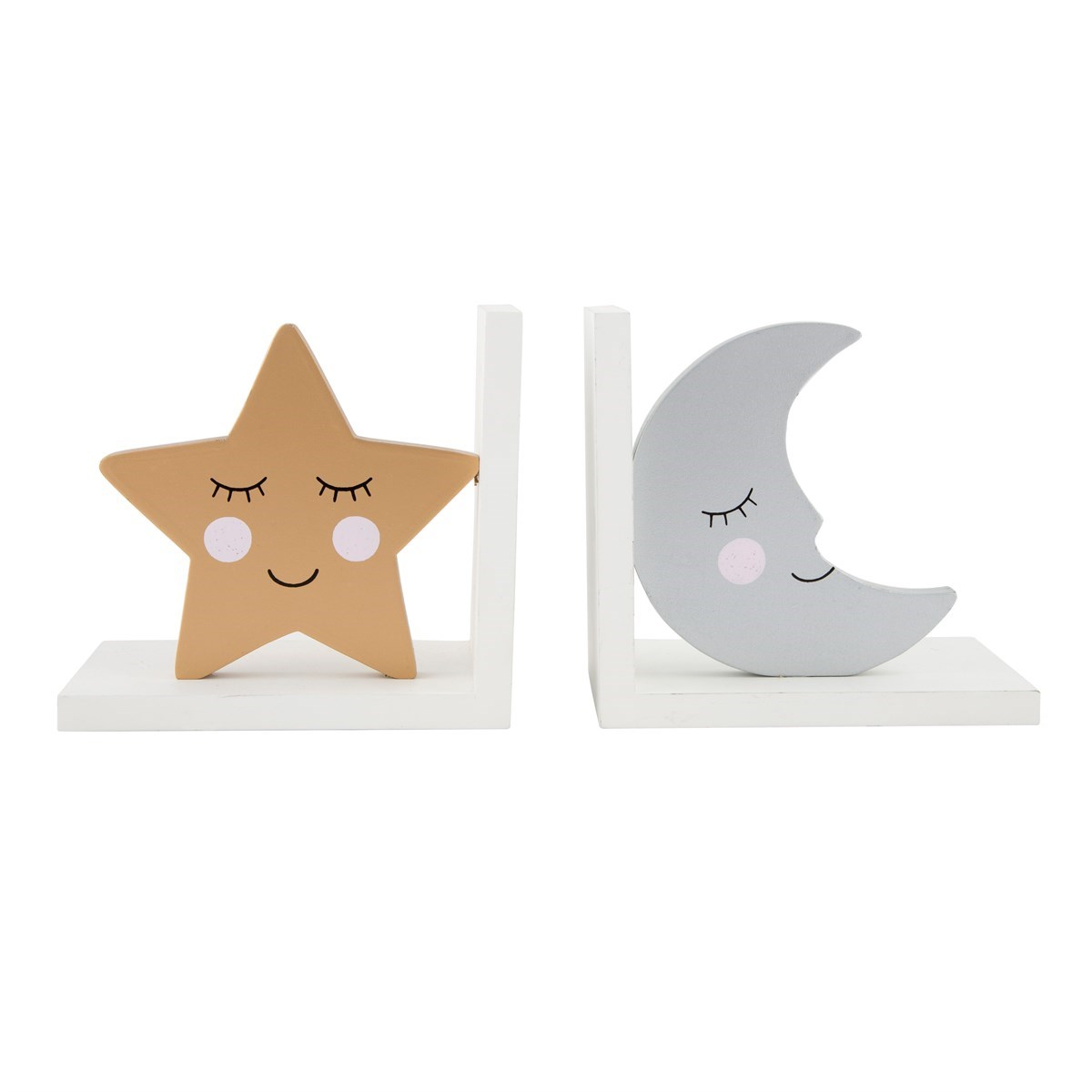UK NEW Homeware Childrens Furniture Sass and Belle Bear Camp Bookends